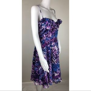 Laundry by Design Dresses - Laundry by Design Blue and Purple Dress Size 12